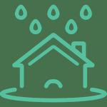 Les toitures végétales UpGreen sont étanches et diminuent le risque d'inondations