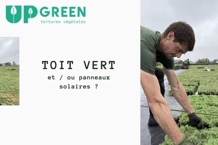 Toiture végétale et / ou panneaux solaires ?